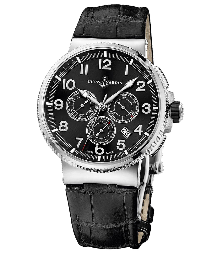 Ulysse Nardin Marine Chronograph Manufacture Men's Watch