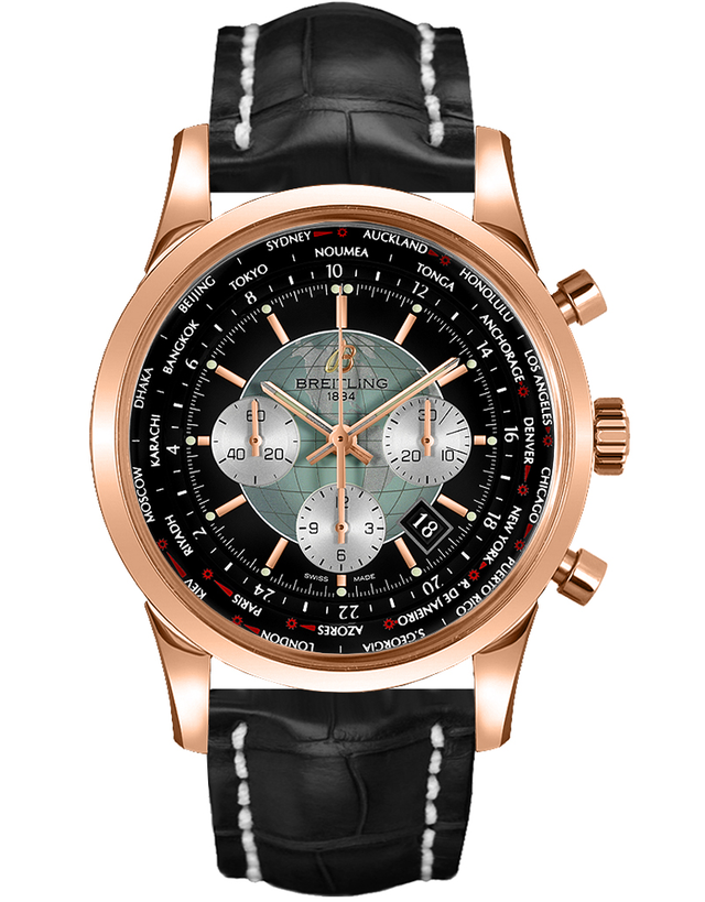 Breitling Transocean Chronograph Unitime Men's Watch