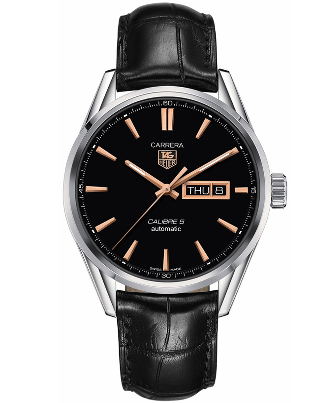 Tag Heuer Carrera Calibre 5 Day-Date Automatic Men's Watch