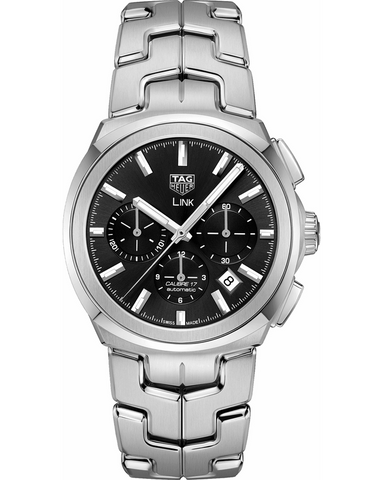 Tag Heuer Link 41mm Black Dial Men's Watch