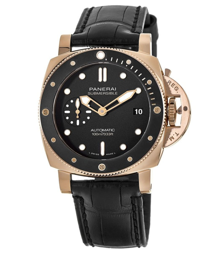 Panerai Submersible 42mm Mens Watch