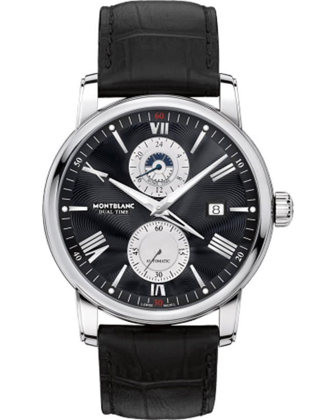 Montblanc Star 4810 Black Dual Time Travel Watch