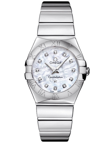 Omega Constellation Polished 27mm Ladies Watch