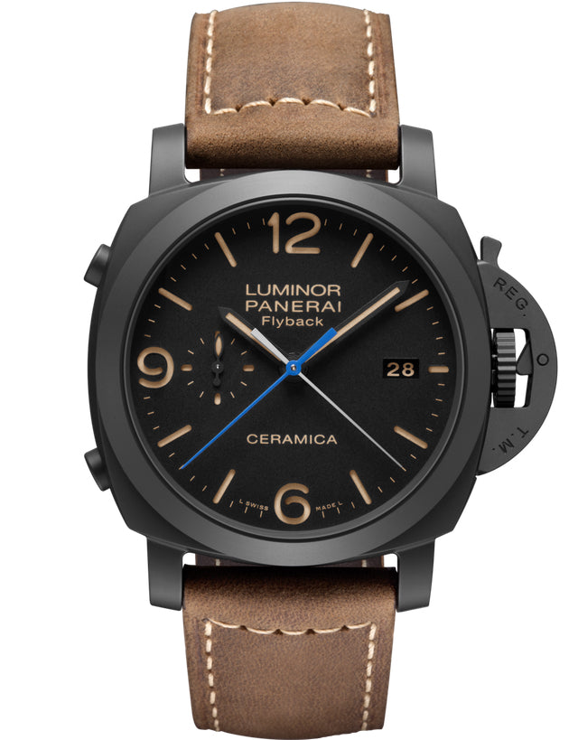 Panerai Luminor 1950 3 Days Chrono Flyback Automatic Ceramica 44mm Men's Watch