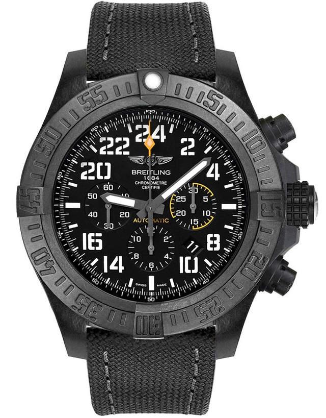 Breitling Avenger Hurricane Black Dial Automatic Men's Watch