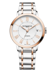 Baume & Mercier Classima Automatic Rose Gold & Steel Women's Watch