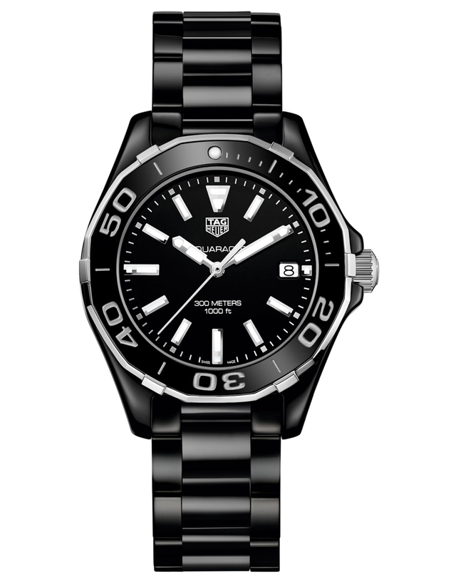 Tag Heuer Aquaracer Lady 300M 35MM Black Ceramic Women's Watch