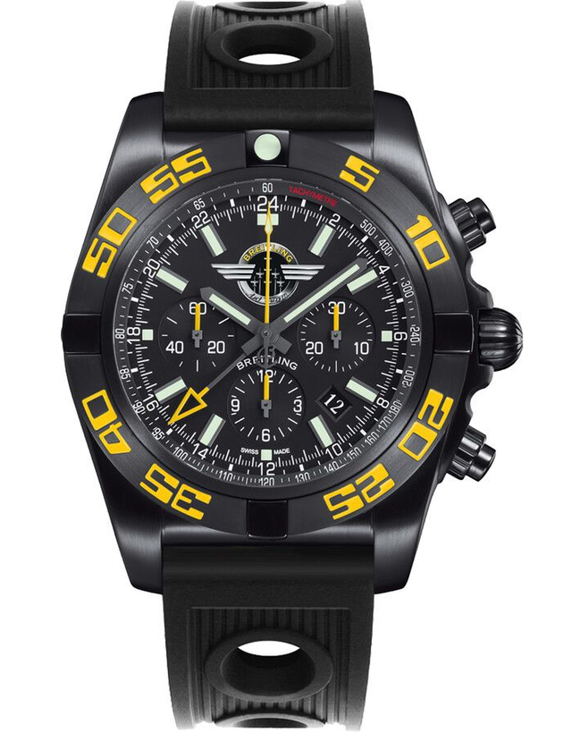 Breitling Chronomat GMT Onyx Black Men's Watch