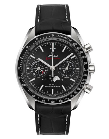 Omega Speedmaster Moonphase Co-Axial Master Chronometer Chronograph Black Dial Men's Watch