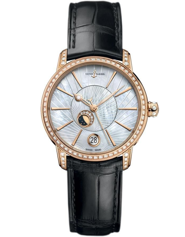 Ulysse Nardin Classico Luna Diamonds Ladies Watch