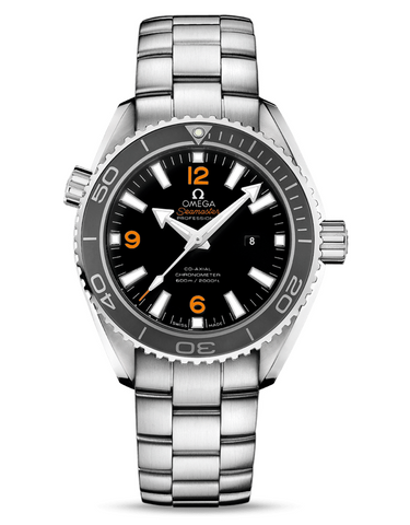 Omega Seamaster Planet Ocean Black Dial 37.5mm Men's Watch