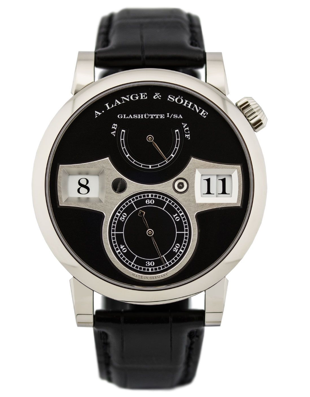 A. Lange & Sohne Zeitwerk Men's Watch