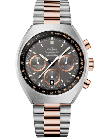 OMEGA SPEEDMASTER MARK II CHRONOGRAPH STEEL AND ROSE GOLD MEN'S WATCH