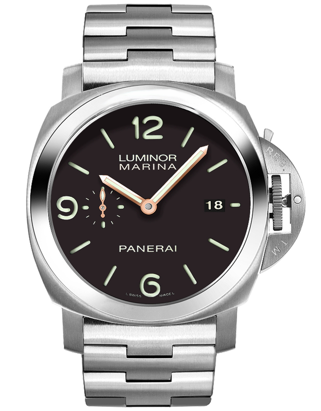 PANERAI LUMINOR 1950 3 DAYS 44MM AUTOMATIC TITANIUM MEN'S WATCH