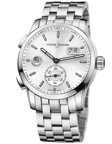 Ulysse Nardin Dual Time Manufacture Mens Watch