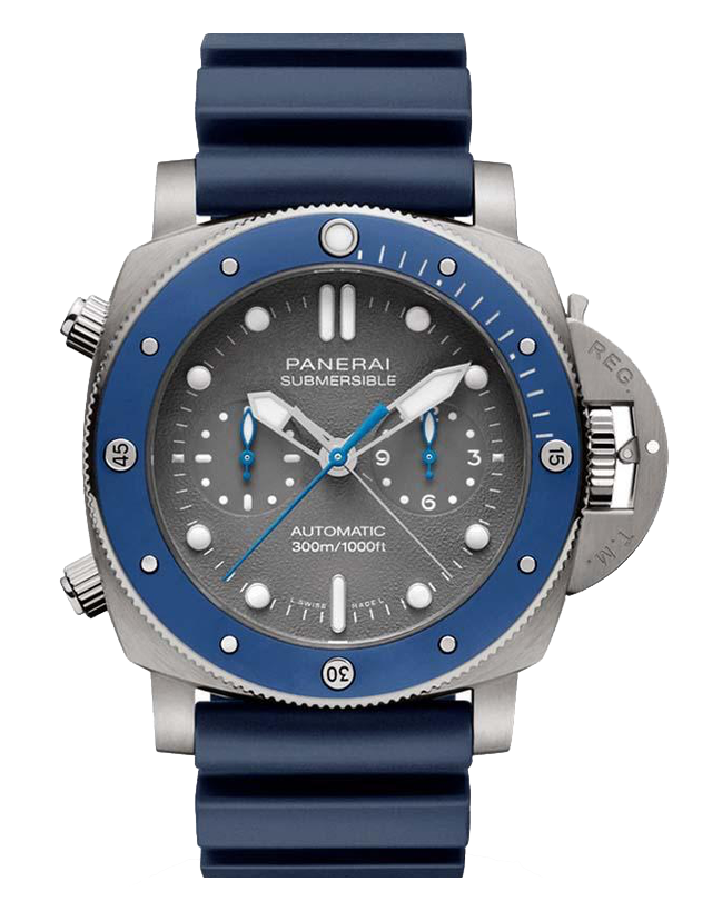 Panerai Submersible Chrono Guillaume Nery Edition  Men's Watch