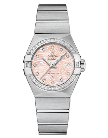 Omega Constellation Diamond Ladies Watch