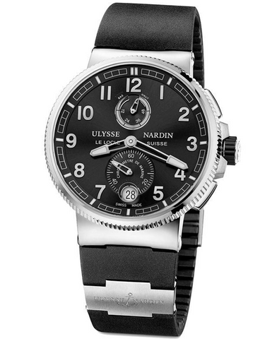 Ulysse Nardin Marine Chronometer Black Dial Men's Watch