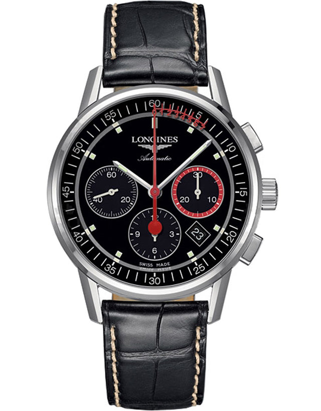 Longines Heritage Column Wheel Chronograph Men's Watch