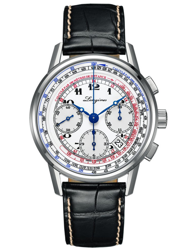 Longines Heritage Tachymeter Chronograph Men's Watch