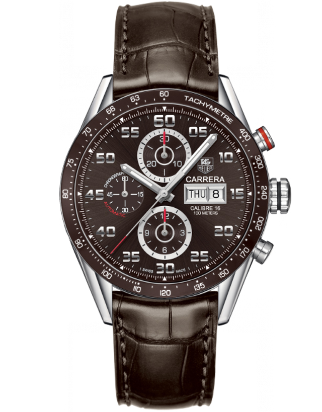 Tag Heuer Carrera Chronograph Day-Date Men's Watch