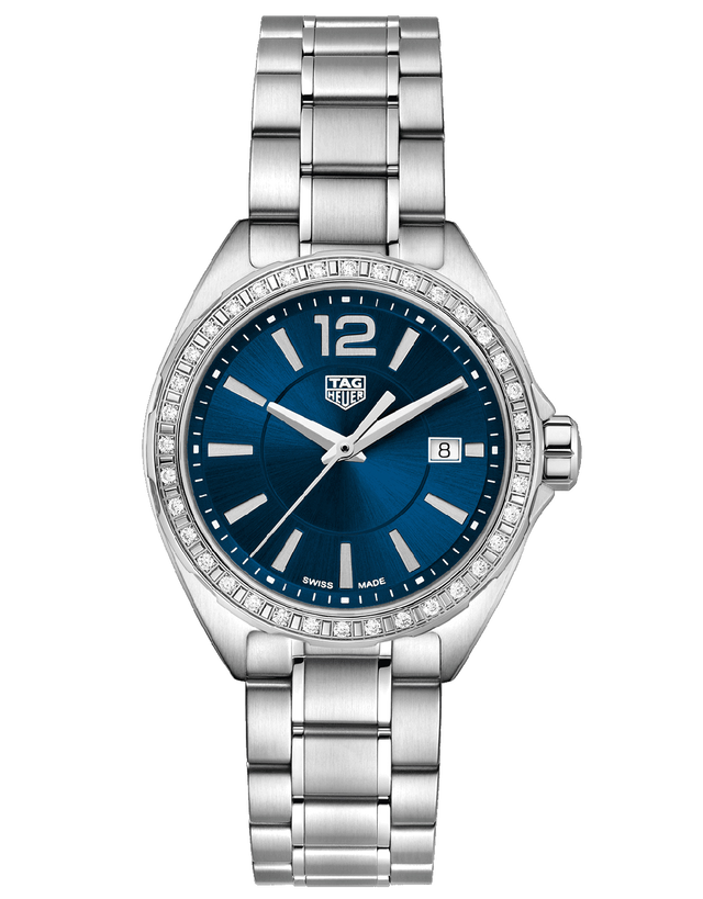 Tag Heuer Formula 1 Quartz Blue Dial Diamond Women's Watch