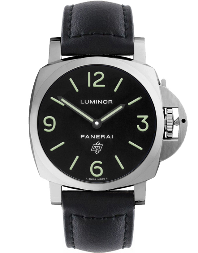 PANERAI LUMINOR BASE LOGO ACCIAIO 44MM MEN'S WATCH
