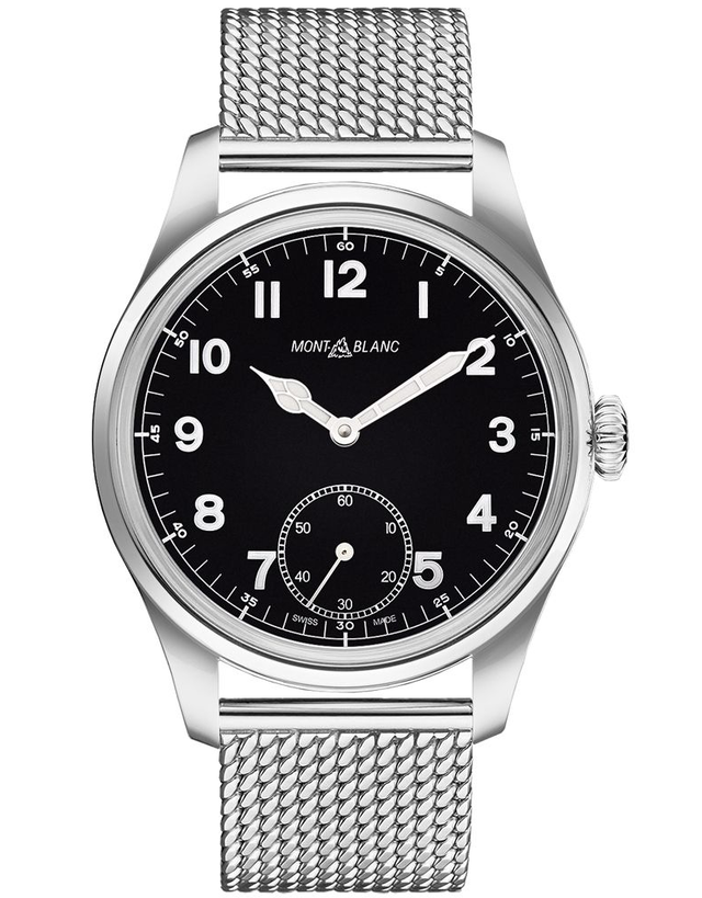 MontBlanc 1858 Manual Small Seconds Men's Watch
