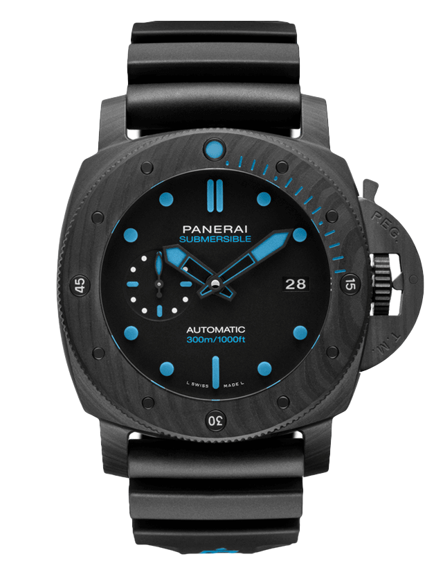 Panerai Luminor Submersible 1950 Automatic Black Dial Men's Watch