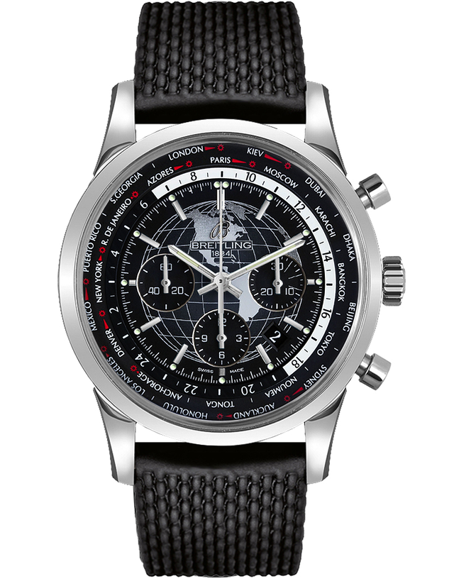 Breitling Transocean Chronograph Unitime Men's Luxury Watch