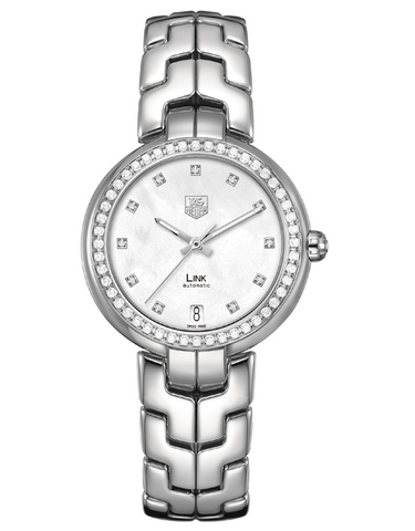 TAG HEUER LINK AUTOMATIC 34MM WOMEN'S WATCH