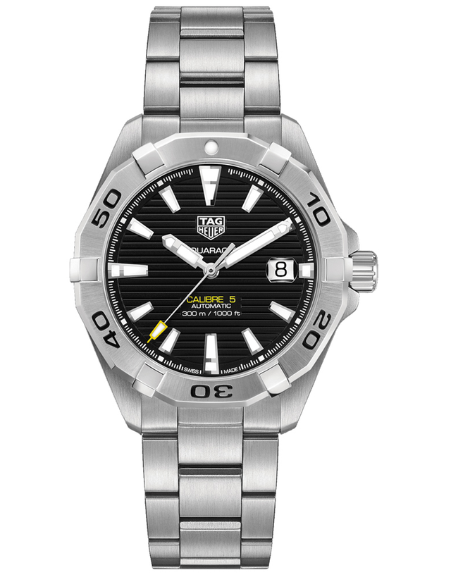Tag Heuer Aquaracer 300M Automatic 41mm Black Dial Stainless Steel Men's Watch