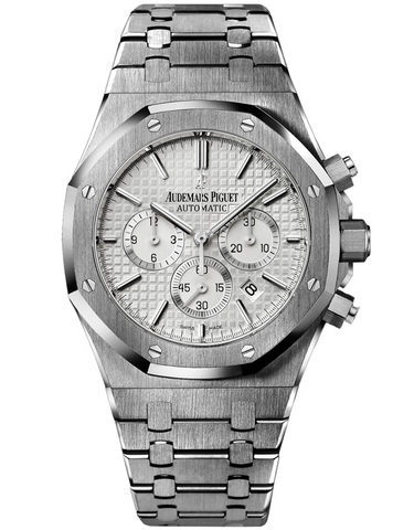AUDEMARS PIGUET ROYAL OAK STAINLESS STEEL SILVER AUTOMATIC