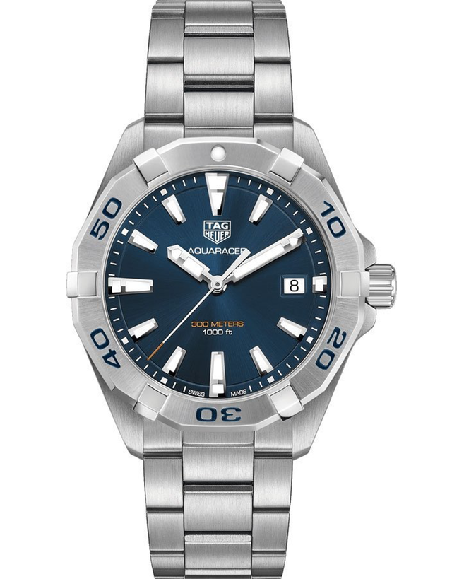 TAG HEUER AQUARACER 300M BLUE DIAL STAINLESS STEEL MEN'S WATCH