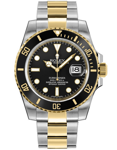 Rolex Submariner Date 40mm Steel & Gold  Men's Watch