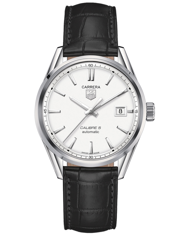 TAG HEUER CARRERA CALIBRE 5 39MM AUTOMATIC MEN'S WATCH