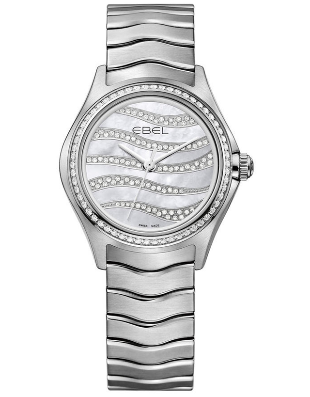 Ebel Wave Quartz 30mm Ladies Watch