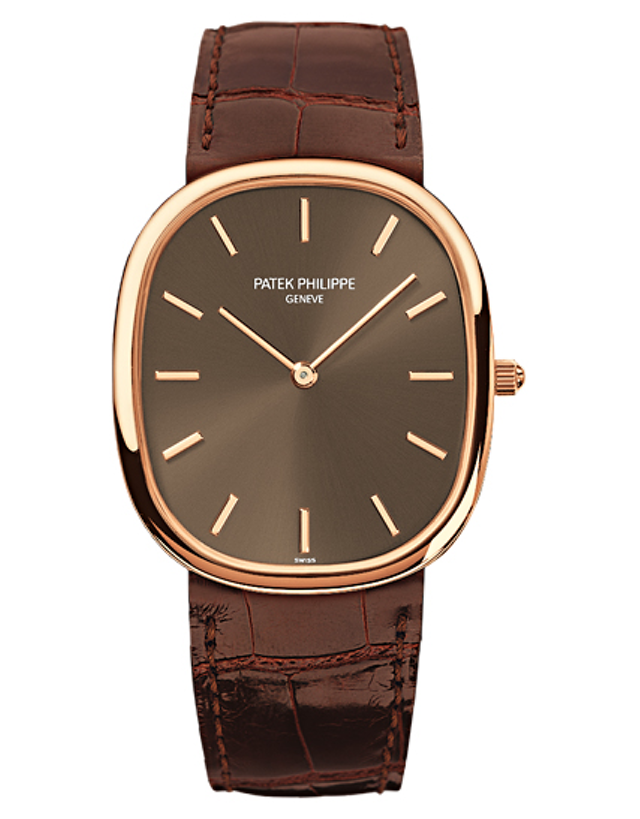PATEK PHILIPPE GOLDEN ELLIPSE ROSE GOLD MEN'S WATCH