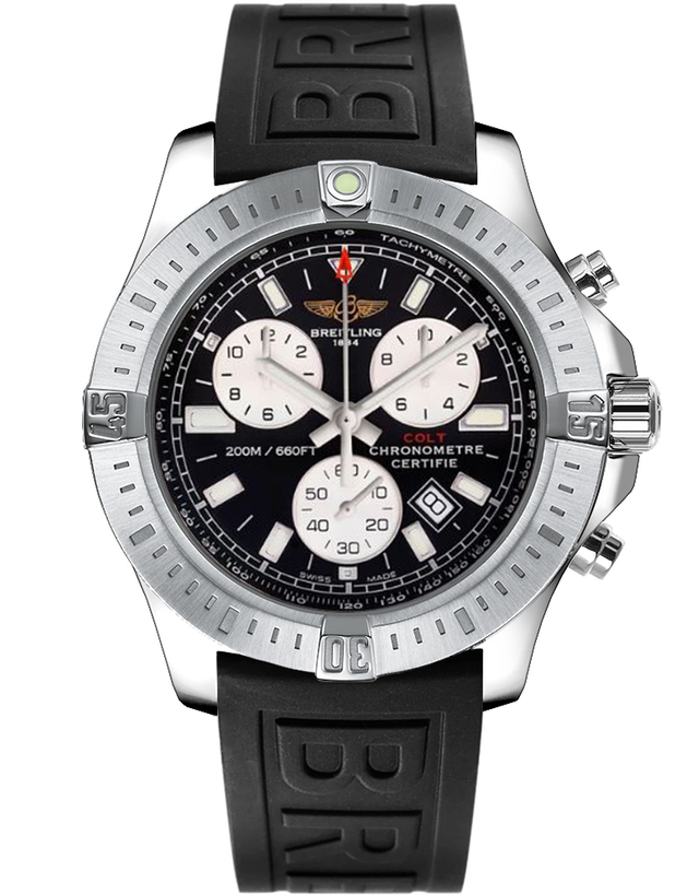 BREITLING COLT CHRONOGRAPH QUARTZ MEN'S WATCH