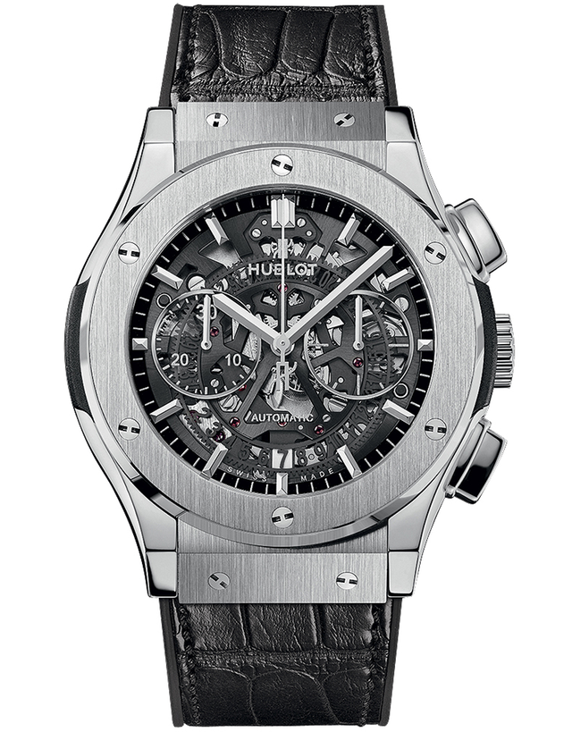 HUBLOT CLASSIC FUSION AEROFUSION TITANIUM MEN'S WATCH