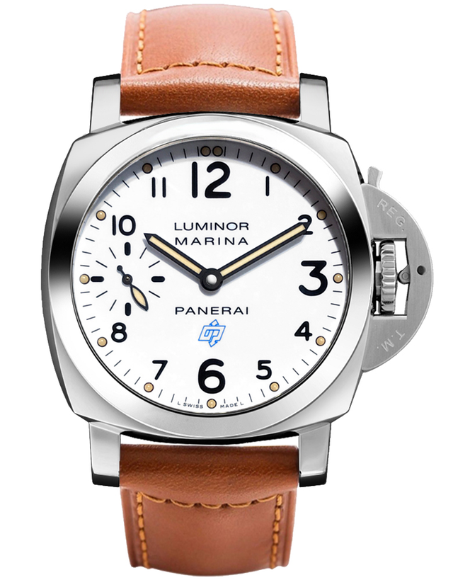 Panerai Luminor Marina Logo Acciaio Men's Watch