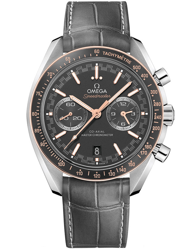 Omega Speedmaster Racing Master Chronometer Chronograph 44.25mm Mens Watch