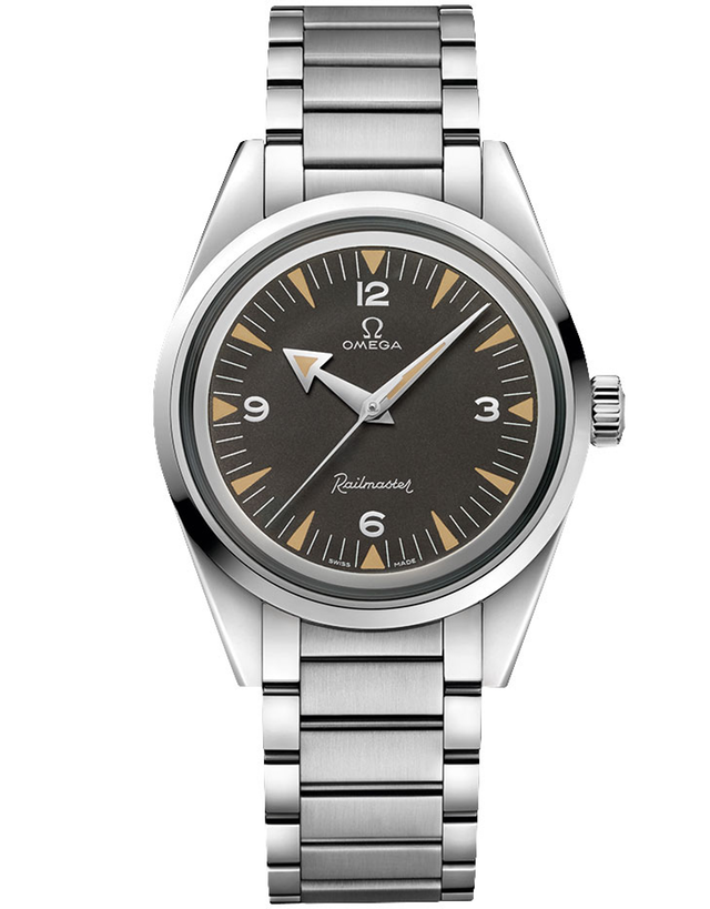 Omega Seamaster Railmaster The 1957 Trilogy Limited Edition Men's Watch
