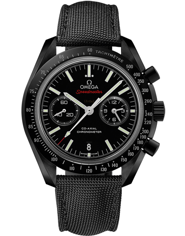 OMEGA SPEEDMASTER MOONWATCH CO-AXIAL CHRONOGRAPH DARK SIDE MEN'S WATCH