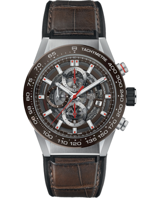Tag Heuer Carrera Caliber Heuer 01 Skeleton 43mm Mens Watch