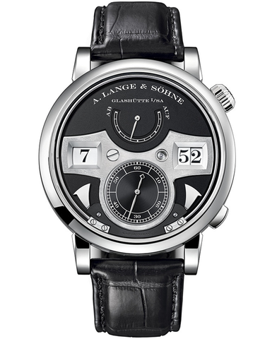 A. Lange & Sohne zeitwerk striking time 44.2mm men's watch
