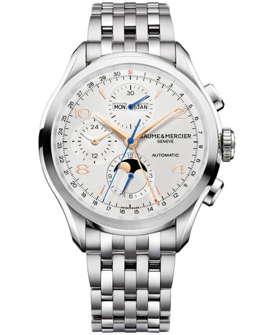 Baume & Mercier Clifton Automatic Stainless Steel Men's Watch