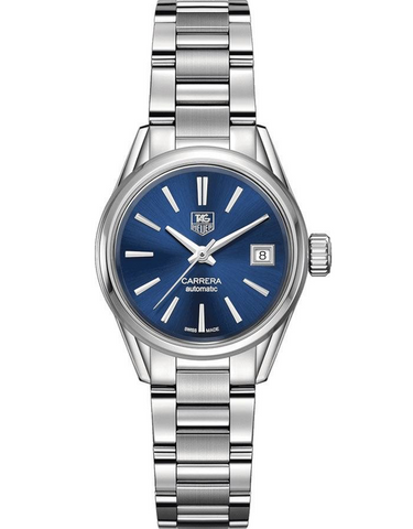 Tag Heuer Carrera Automatic Blue Dial Steel Women's Watch