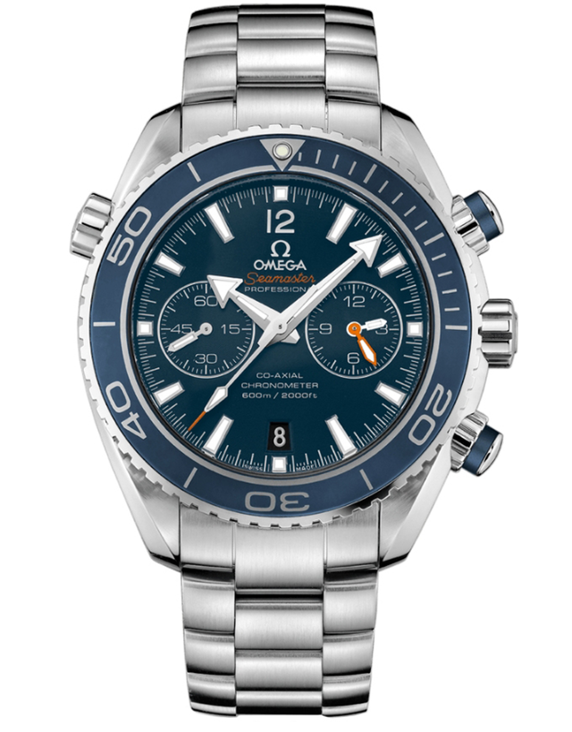 Omega Seamaster Planet Ocean 600m Chronograph 45.5mm Titanium Liquidmetal Edition Men's Watch