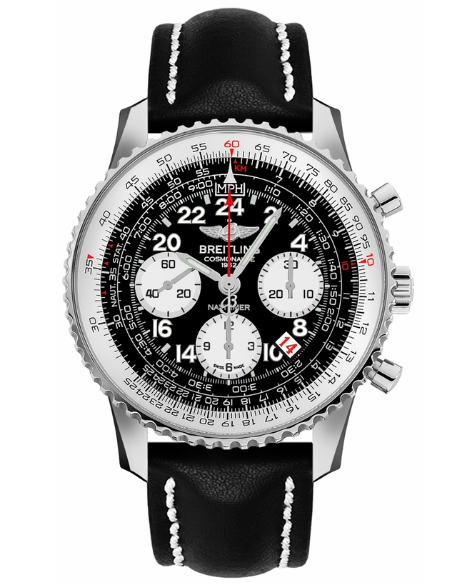 BREITLING NAVITIMER COSMONAUTE AUTOMATIC STEEL LIMITED EDITION MEN'S WATCH